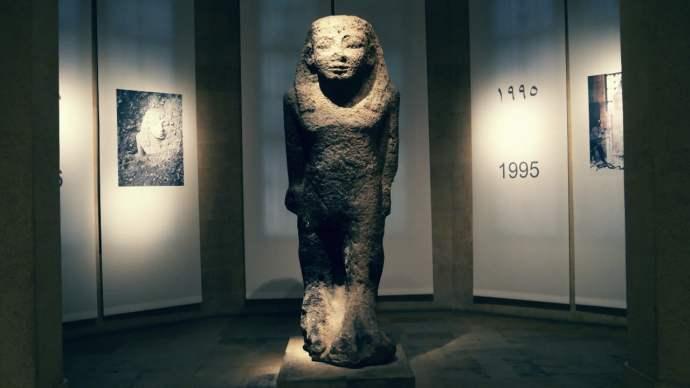 Coloso de Byblos - Museo Nacional Beirut