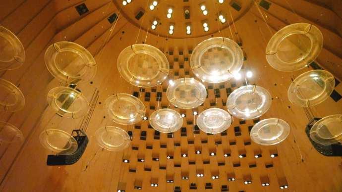 Detalle del techo del Concert Hall - El espacio más importante de la Casa de la Ópera de Sydney