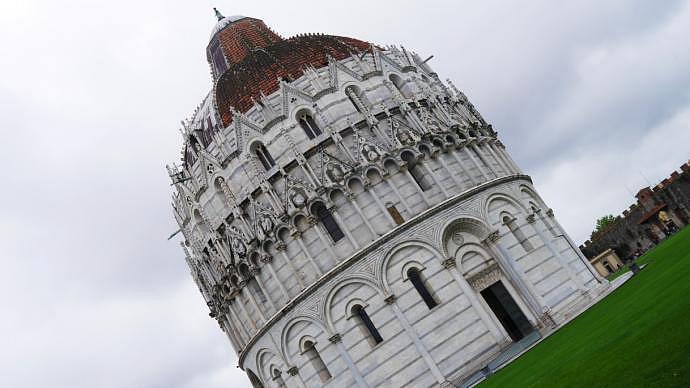 Las 13 mejores atracciones de Pisa - Baptisterio de Pisa