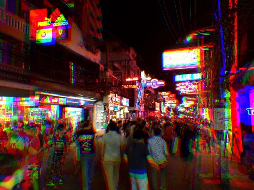 Mejores zonas donde dormir en Pattaya para vida nocturna - Walking Street