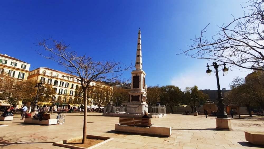 Qué hacer en Málaga - Visitar la Plaza La Merced