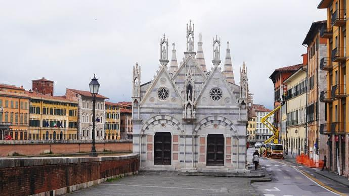 Qué visitar en Pisa - Iglesia de Santa María della Spina