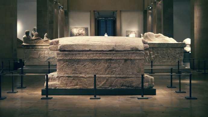 Sarcófago del rey Ahiram - Museo Nacional, Beirut