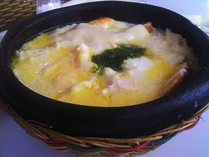 Sopa Changua - Comida colombiana