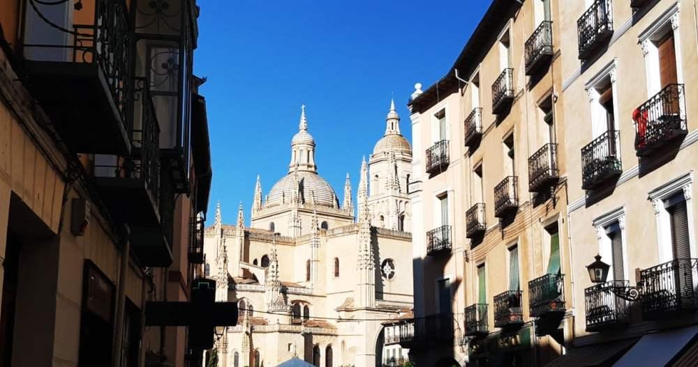 Visitar la catedral de Segovia