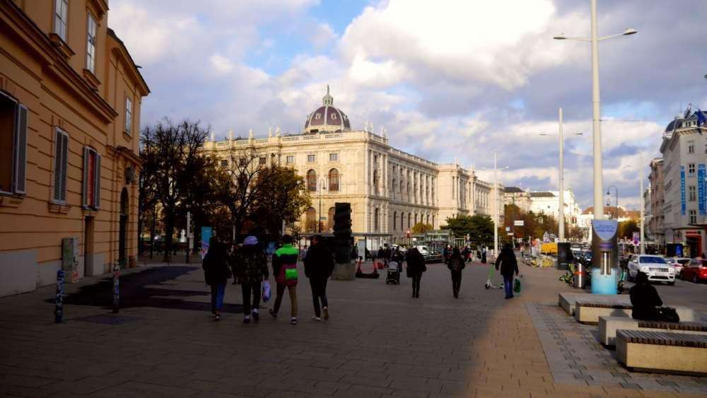 Zona recomendada donde dormir en Viena - Museum Quarter