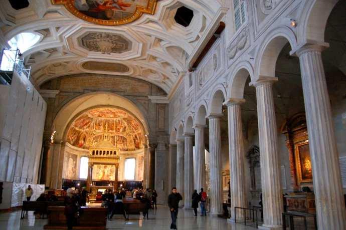 Iglesias para visitar en Roma - Basílica de San Pietro in Vincoli