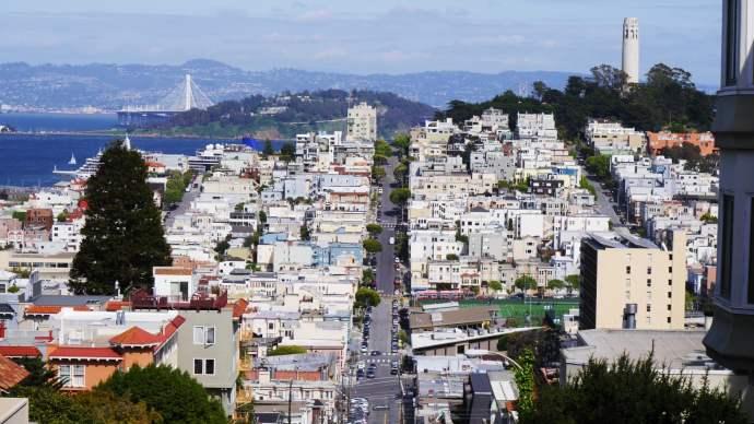 Dato curioso de San Francisco - Con 121 km2, la ciudad es relativamente pequeña