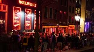 Mejores zonas donde alojarse en Ámsterdam para vida nocturna - Barrio Rojo