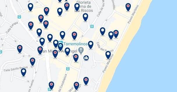 Torremolinos - Centro - Hac clic para ver todos los hoteles en un mapa