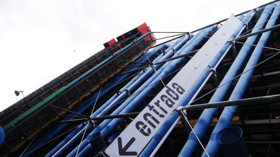 Atracciones imperdibles de París - Centre Pompidou