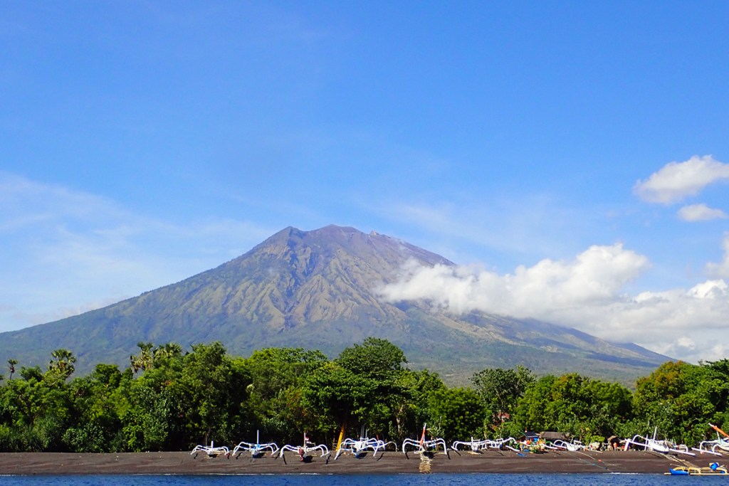 Mount Agung. Bali, Indonesia