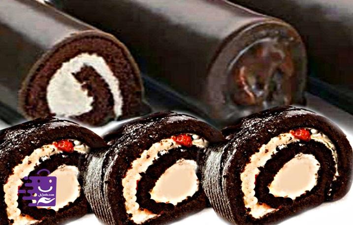 Resep makanan penutup BOLU GULUNG COKELAT MINI