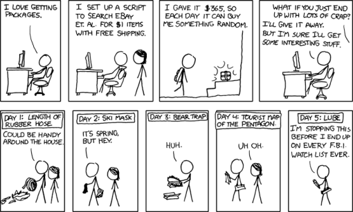 xkcd #576: Packages