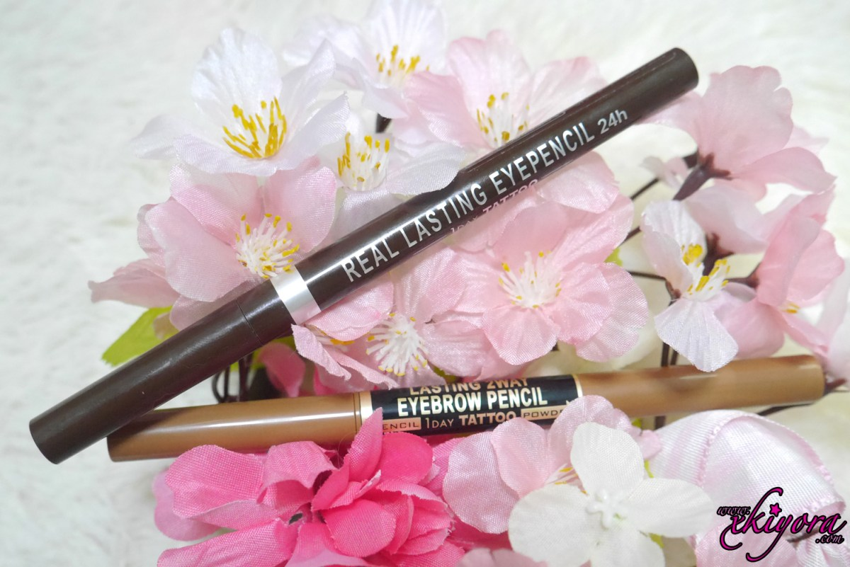 K-Palette 2way Eyebrow Pencil and Eyepencil