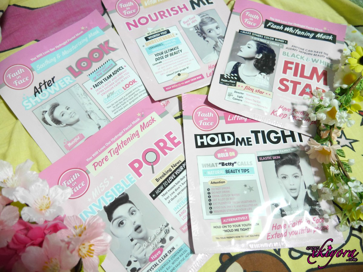 Faith in Face Mask - No.1 Hydrogel Mask Brand in Korea