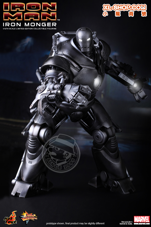 Hot Toys Iron Monger : monger, 1/6th, Scale, Monger, Limited, Edition, Collectible, Figurine