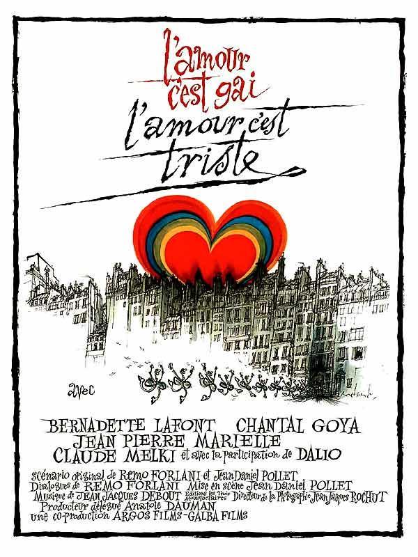 L'amour C'est Gai L'amour C'est Triste : l'amour, c'est, triste, L'amour, C'est, Triste, (1971), Movie, Posters