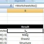 WorksheetName and WorksheetsNo UDFs