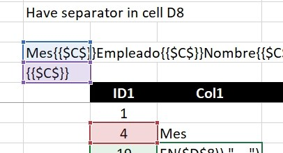 Text-to-Columns, dynamically using formulas