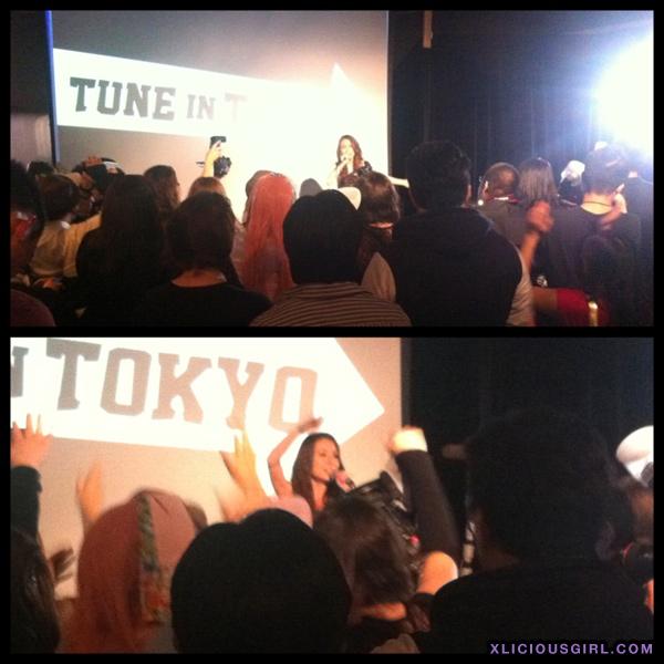 may j at harajuku holiday event