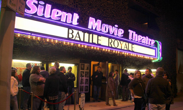 cinefamily's silent movie theatre battle royale screening