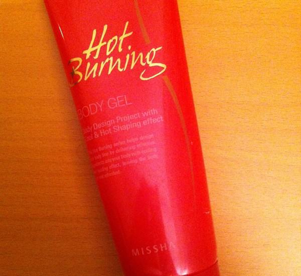 missha hot burning body gel