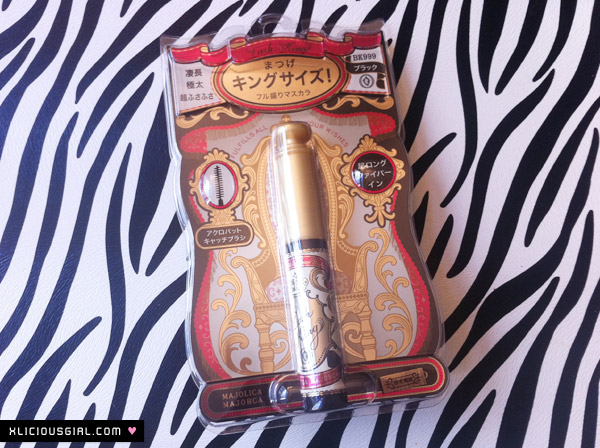 majolica majorca lash king packaging