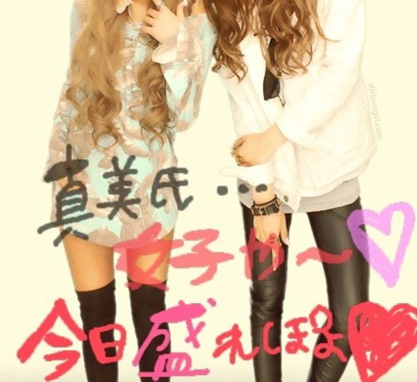 gyaru purikura hair colors