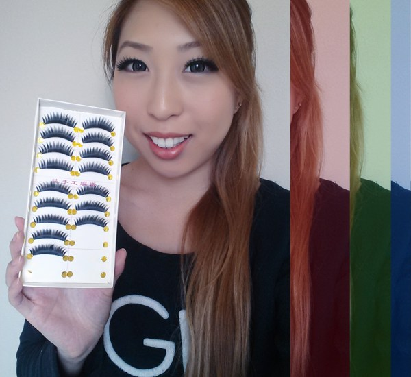 born pretty store false fake eyelashes review