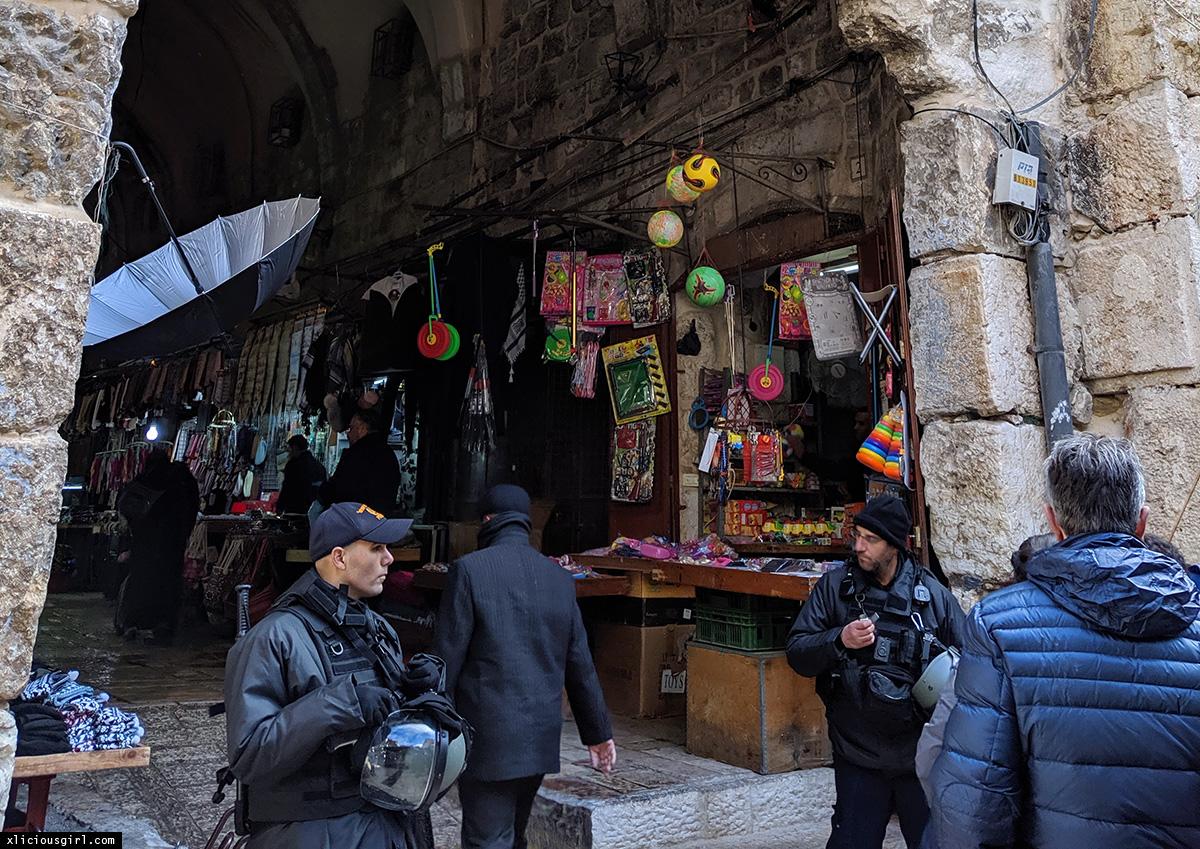 Armenian Quarters in Jerusalem