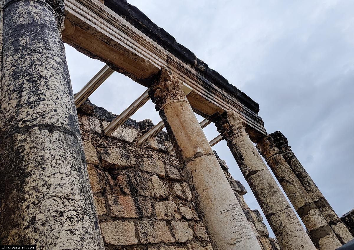 Capharnaum ruins