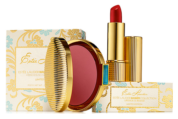 estee lauder mad men collection lipstick and blush