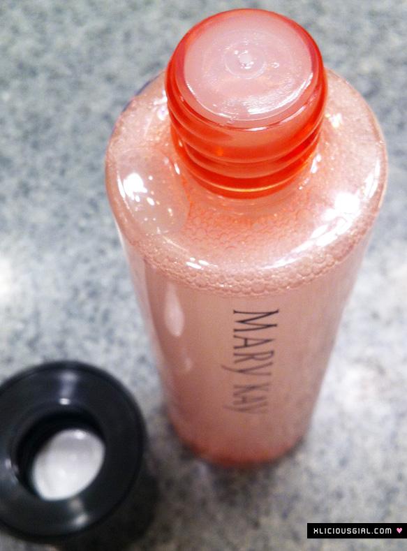 mary kay eye makeup remover cap/top
