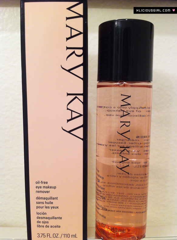 may kay eye makeup remover package and bottle