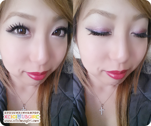 christmas gyaru makeup
