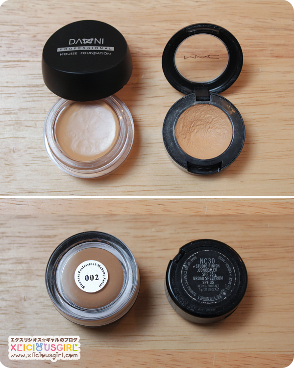 danni professional concealer mac makeup review