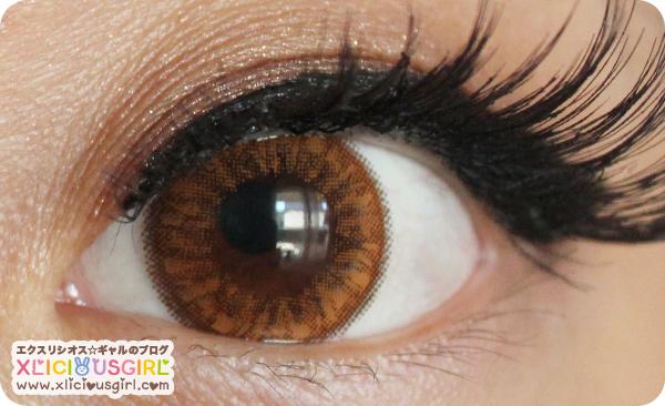 bunny color circle lens klenspop review