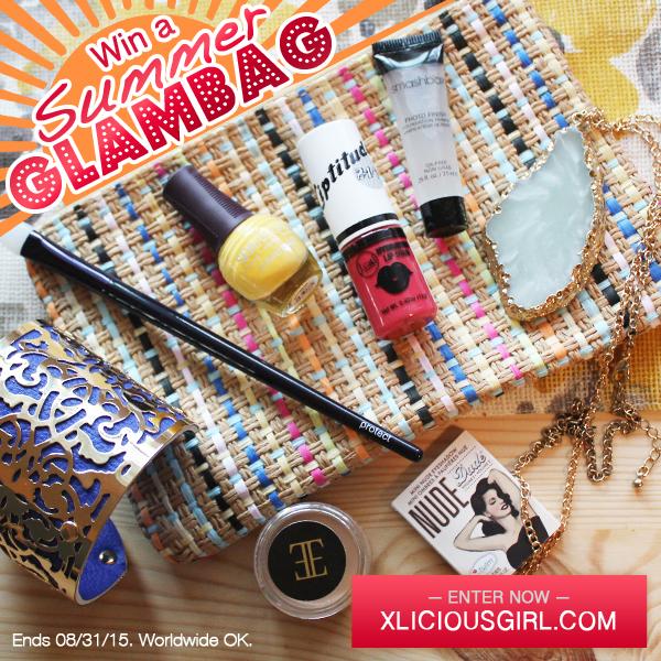 summer glambag giveaway xlicious
