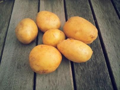 Пресни картофки