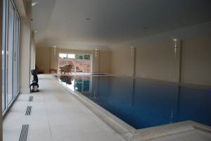 Indoor Pool Installation