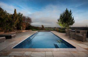 Compass One-Piece Fibreglass Swimming Pool