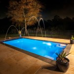Outdoor Swimming Pool With Jets