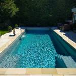 Outdoor One-Piece Swimming Pool