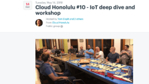 Cloud Honolulu Meetup