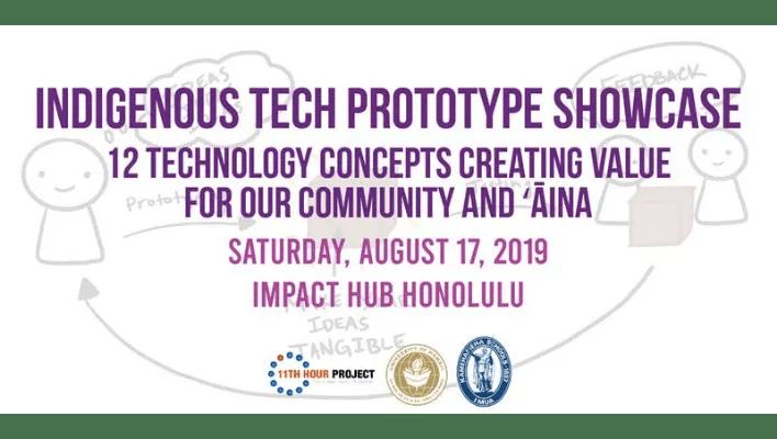 Indigenous Tech Prototype Purple Mai'a XLR8HI - Website Events (STARTUP PARADISE EVENTS HAWAII)