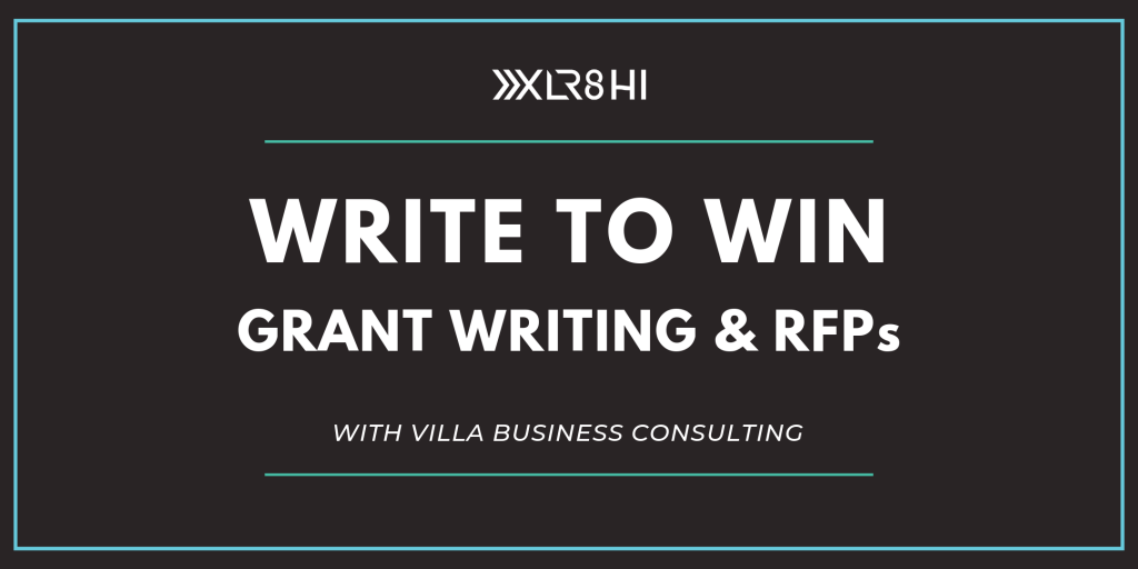 Write to Win: Grant Writing & RFPs