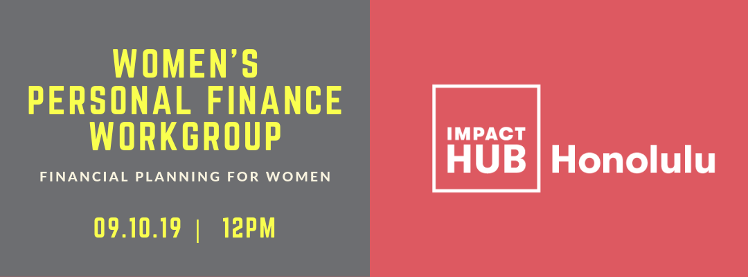 Women's Personal Finance Workgroup