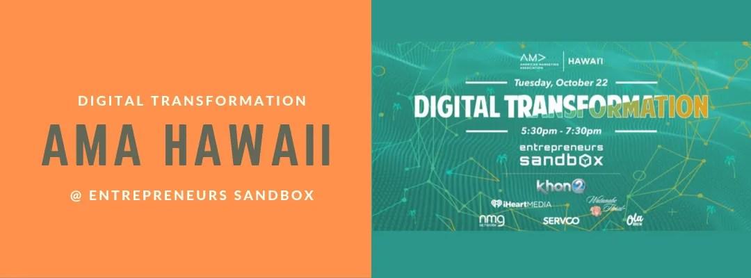 Digital Transformation AMA hawaii