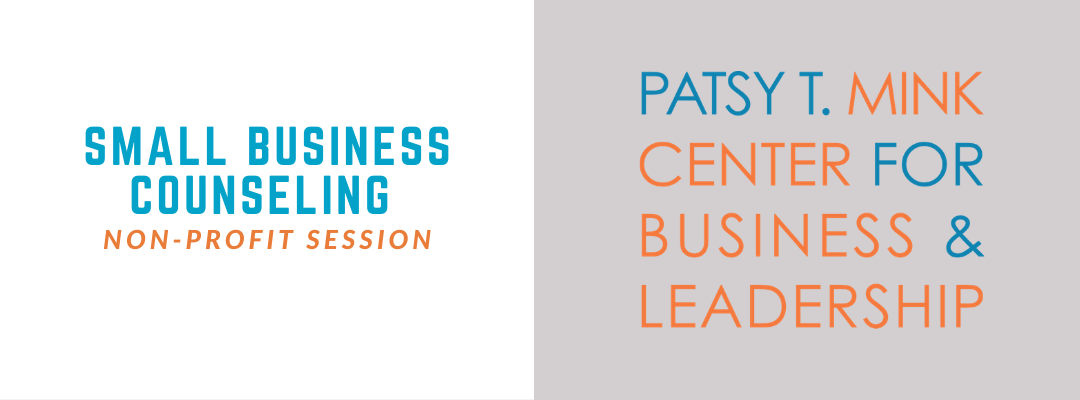 Small Business Counseling: Non-Profit Session